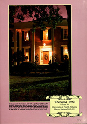 Page 5, 1992 Edition, University of North Alabama - Diorama Yearbook (Florence, AL) online yearbook collection