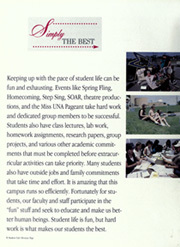 Page 10, 1995 Edition, University of North Alabama - Diorama Yearbook (Florence, AL) online yearbook collection
