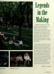 Page 7, 1996 Edition, University of North Alabama - Diorama Yearbook (Florence, AL) online yearbook collection