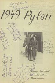 Page 5, 1949 Edition, Leuzinger High School - Pylon Yearbook (Lawndale, CA) online yearbook collection