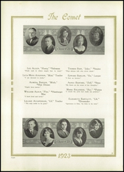 Page 12, 1923 Edition, Austin High School - Comet Yearbook (Austin, TX) online yearbook collection