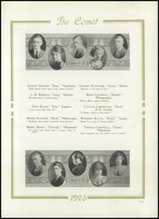 Page 13, 1923 Edition, Austin High School - Comet Yearbook (Austin, TX) online yearbook collection