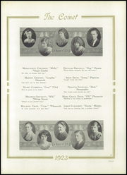 Page 15, 1923 Edition, Austin High School - Comet Yearbook (Austin, TX) online yearbook collection