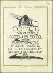 Page 5, 1923 Edition, Austin High School - Comet Yearbook (Austin, TX) online yearbook collection