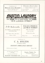 Page 203, 1940 Edition, Austin High School - Comet Yearbook (Austin, TX) online yearbook collection