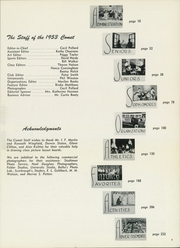 Page 11, 1953 Edition, Austin High School - Comet Yearbook (Austin, TX) online yearbook collection