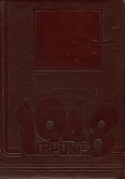 1948 Edition, Gooding High School - Toponis Yearbook (Gooding, IN)