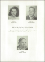 Page 13, 1949 Edition, Gooding High School - Toponis Yearbook (Gooding, IN) online yearbook collection