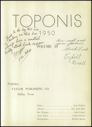 Page 7, 1950 Edition, Gooding High School - Toponis Yearbook (Gooding, IN) online yearbook collection