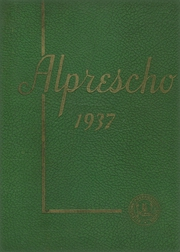 Page 1, 1937 Edition, Allentown Preparatory School - Alprescho Yearbook (Allentown, PA) online yearbook collection