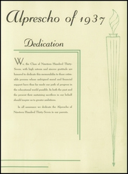 Page 9, 1937 Edition, Allentown Preparatory School - Alprescho Yearbook (Allentown, PA) online yearbook collection