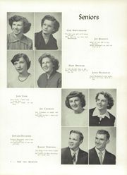 Page 11, 1951 Edition, Montgomery Township High School - Beacon Yearbook (Arcadia, PA) online yearbook collection