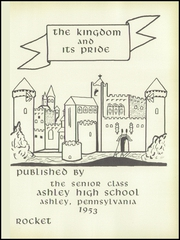 Page 5, 1953 Edition, Ashley High School - Rocket Yearbook (Ashley, PA) online yearbook collection