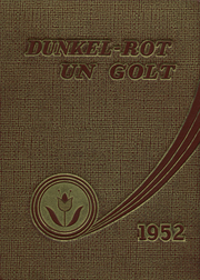 Page 1, 1952 Edition, Auburn High School - Maroon and Gold Yearbook (Auburn, PA) online yearbook collection