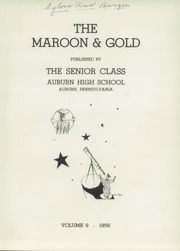 Page 5, 1956 Edition, Auburn High School - Maroon and Gold Yearbook (Auburn, PA) online yearbook collection