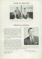Page 12, 1957 Edition, Auburn High School - Maroon and Gold Yearbook (Auburn, PA) online yearbook collection