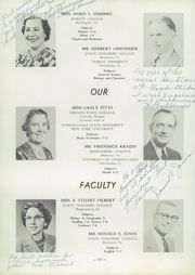 Page 14, 1957 Edition, Auburn High School - Maroon and Gold Yearbook (Auburn, PA) online yearbook collection