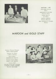 Page 16, 1957 Edition, Auburn High School - Maroon and Gold Yearbook (Auburn, PA) online yearbook collection
