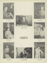 Page 9, 1951 Edition, Menno Union Township High School - Kishaco Quill Yearbook (Belleville, PA) online yearbook collection