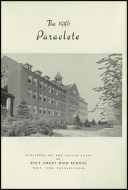 Page 5, 1946 Edition, Holy Ghost High School - Paraclete Yearbook (West View, PA) online yearbook collection