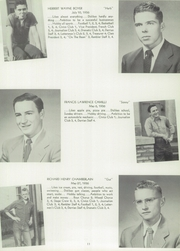 Page 15, 1954 Edition, Derry Borough High School - Derrian Yearbook (Derry, PA) online yearbook collection