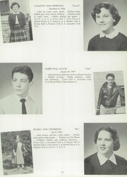 Page 17, 1954 Edition, Derry Borough High School - Derrian Yearbook (Derry, PA) online yearbook collection