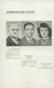 Page 12, 1943 Edition, Enola High School - Enolian Yearbook (Enola, PA) online yearbook collection