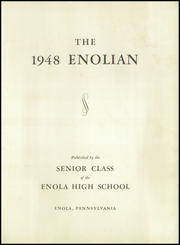 Page 5, 1948 Edition, Enola High School - Enolian Yearbook (Enola, PA) online yearbook collection