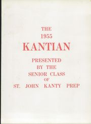 Page 5, 1955 Edition, St John Kanty Preparatory School - Kantian Yearbook (Erie, PA) online yearbook collection