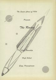 Page 5, 1956 Edition, Scott Township High School - Rocket Yearbook (Espy, PA) online yearbook collection