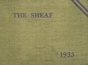 Page 1, 1933 Edition, Mount St Joseph Academy - Sheaf Yearbook (Philadelphia, PA) online yearbook collection