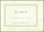 Page 5, 1933 Edition, Mount St Joseph Academy - Sheaf Yearbook (Philadelphia, PA) online yearbook collection