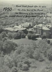 Page 10, 1950 Edition, Mount St Joseph Academy - Sheaf Yearbook (Philadelphia, PA) online yearbook collection
