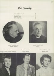 Page 15, 1950 Edition, Mount St Joseph Academy - Sheaf Yearbook (Philadelphia, PA) online yearbook collection