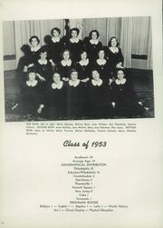 Page 16, 1950 Edition, Mount St Joseph Academy - Sheaf Yearbook (Philadelphia, PA) online yearbook collection