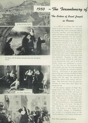 Page 8, 1950 Edition, Mount St Joseph Academy - Sheaf Yearbook (Philadelphia, PA) online yearbook collection