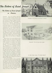Page 9, 1950 Edition, Mount St Joseph Academy - Sheaf Yearbook (Philadelphia, PA) online yearbook collection