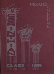 Girard College - Corinthian Yearbook (Philadelphia, PA) online yearbook collection, 1959 Edition, Page 1