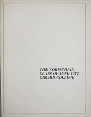 Page 1, 1972 Edition, Girard College - Corinthian Yearbook (Philadelphia, PA) online yearbook collection