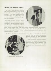 Page 9, 1957 Edition, Harrisburg Academy - Spectator Yearbook (Harrisburg, PA) online yearbook collection