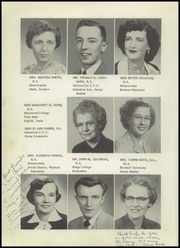 Page 12, 1954 Edition, Lake Noxen Joint High School - Chieftain Yearbook (Harveys Lake, PA) online yearbook collection