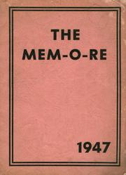 1947 Edition, Johnstown Mennonite School - Mem O Re Yearbook (Johnstown, PA)