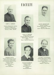 Page 10, 1952 Edition, Johnstown Mennonite School - Mem O Re Yearbook (Johnstown, PA) online yearbook collection