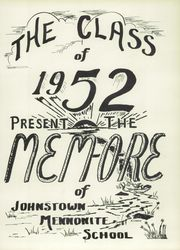 Page 5, 1952 Edition, Johnstown Mennonite School - Mem O Re Yearbook (Johnstown, PA) online yearbook collection