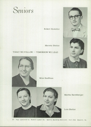 Page 12, 1955 Edition, Johnstown Mennonite School - Mem O Re Yearbook (Johnstown, PA) online yearbook collection