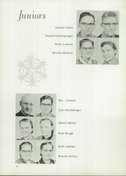 Page 16, 1955 Edition, Johnstown Mennonite School - Mem O Re Yearbook (Johnstown, PA) online yearbook collection