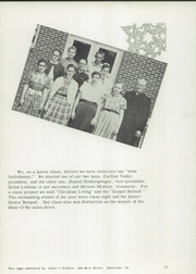 Page 17, 1955 Edition, Johnstown Mennonite School - Mem O Re Yearbook (Johnstown, PA) online yearbook collection