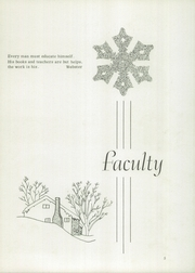 Page 7, 1955 Edition, Johnstown Mennonite School - Mem O Re Yearbook (Johnstown, PA) online yearbook collection