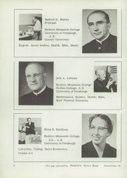 Page 10, 1956 Edition, Johnstown Mennonite School - Mem O Re Yearbook (Johnstown, PA) online yearbook collection