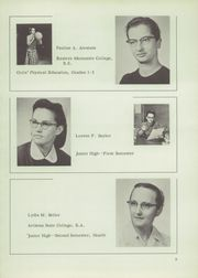 Page 11, 1956 Edition, Johnstown Mennonite School - Mem O Re Yearbook (Johnstown, PA) online yearbook collection